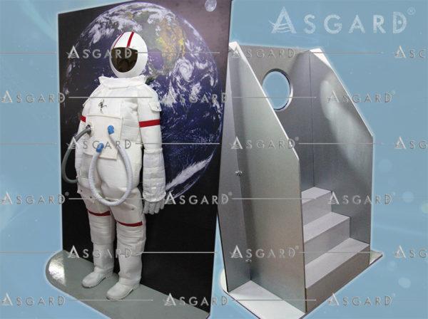 Traje Interativo de Astronauta